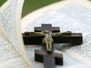 Crucifix & Bible
