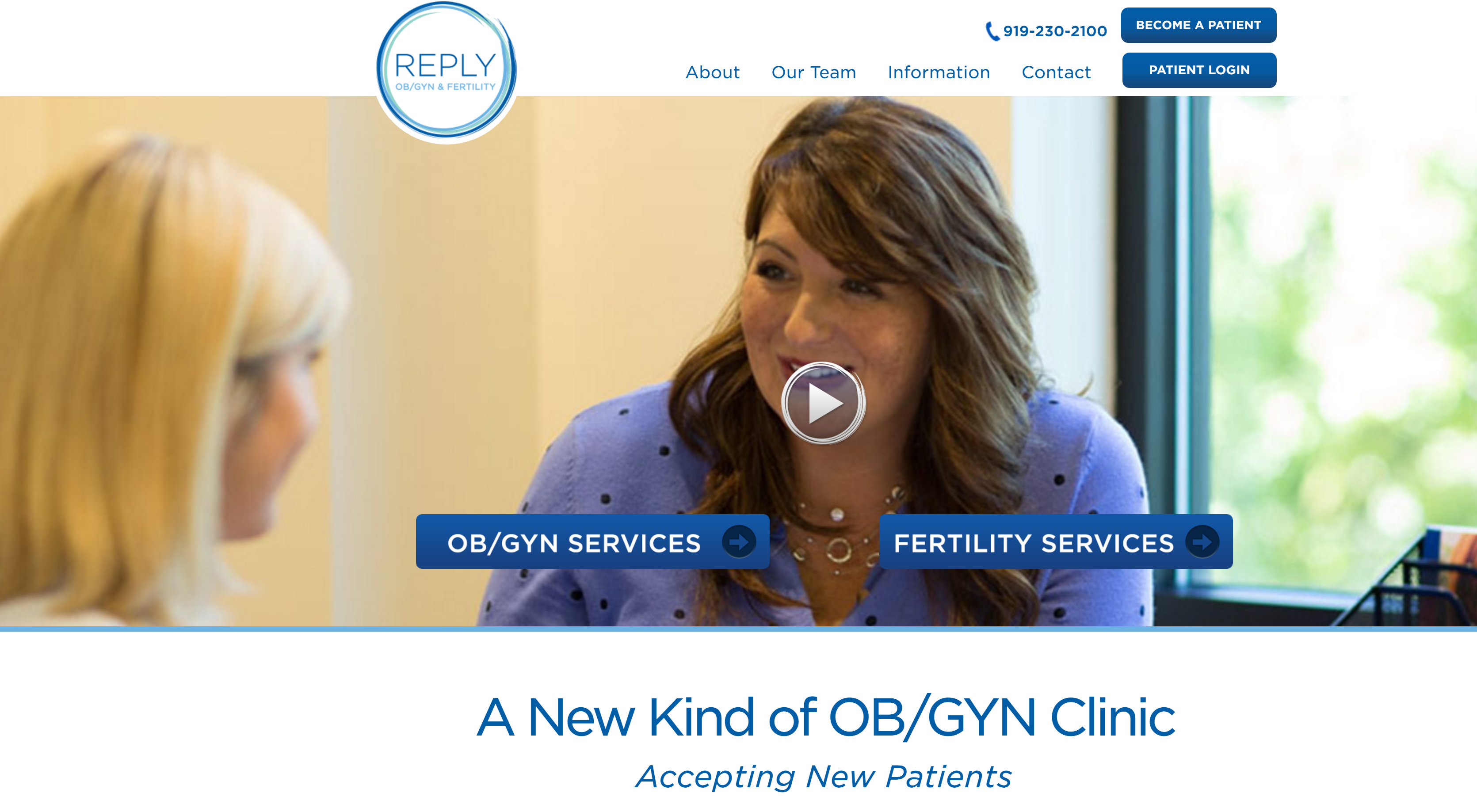 Reply OB/GYN & Fertility