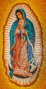 Our Lady of Guadalupe Mosaic St. Catherine's of Siena Wake Forest Photographer Joseph Fuller