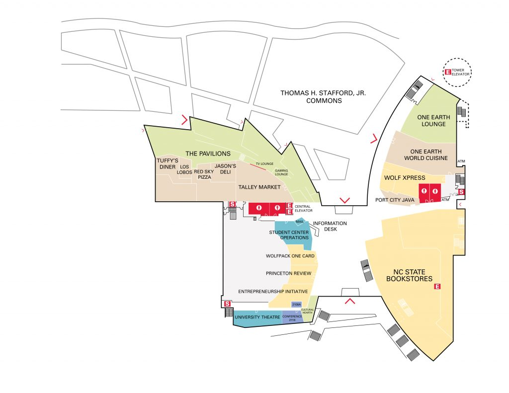 Talley Floor Map